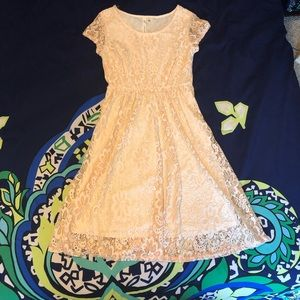 NY Collection lace dress